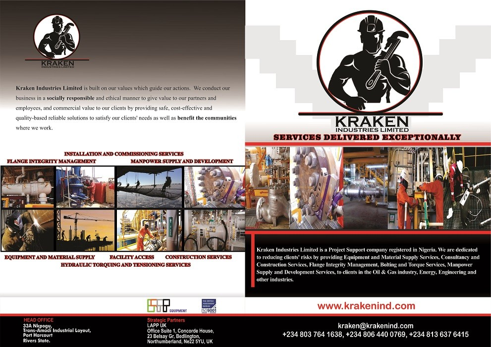 Kraken Industries Limited   LinkedIn