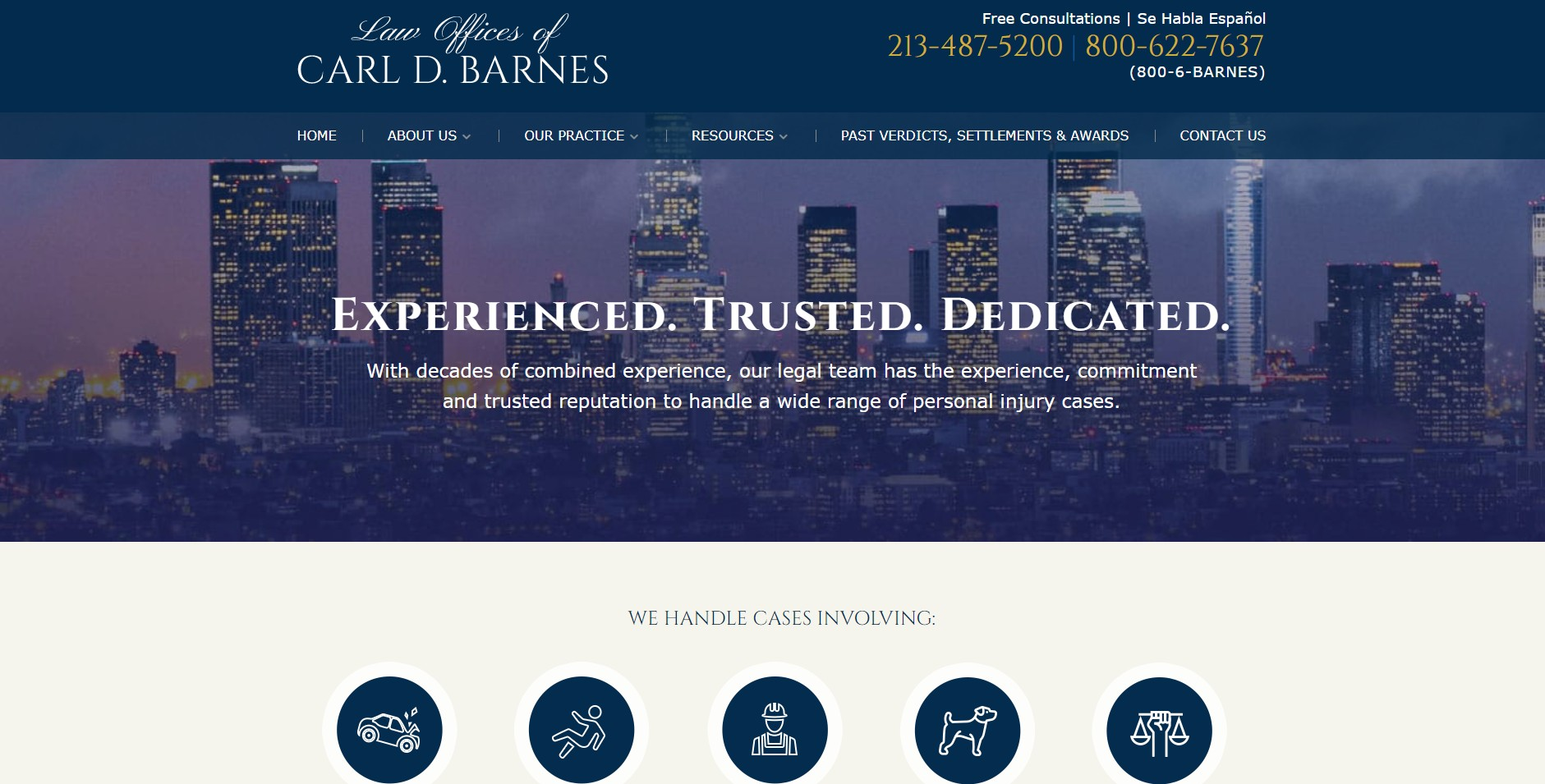 Law Offices of Carl D Barnes   LinkedIn