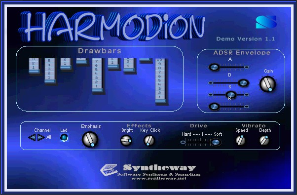 Harmodion VSTi Software (Virtual Musical Instrument) by
