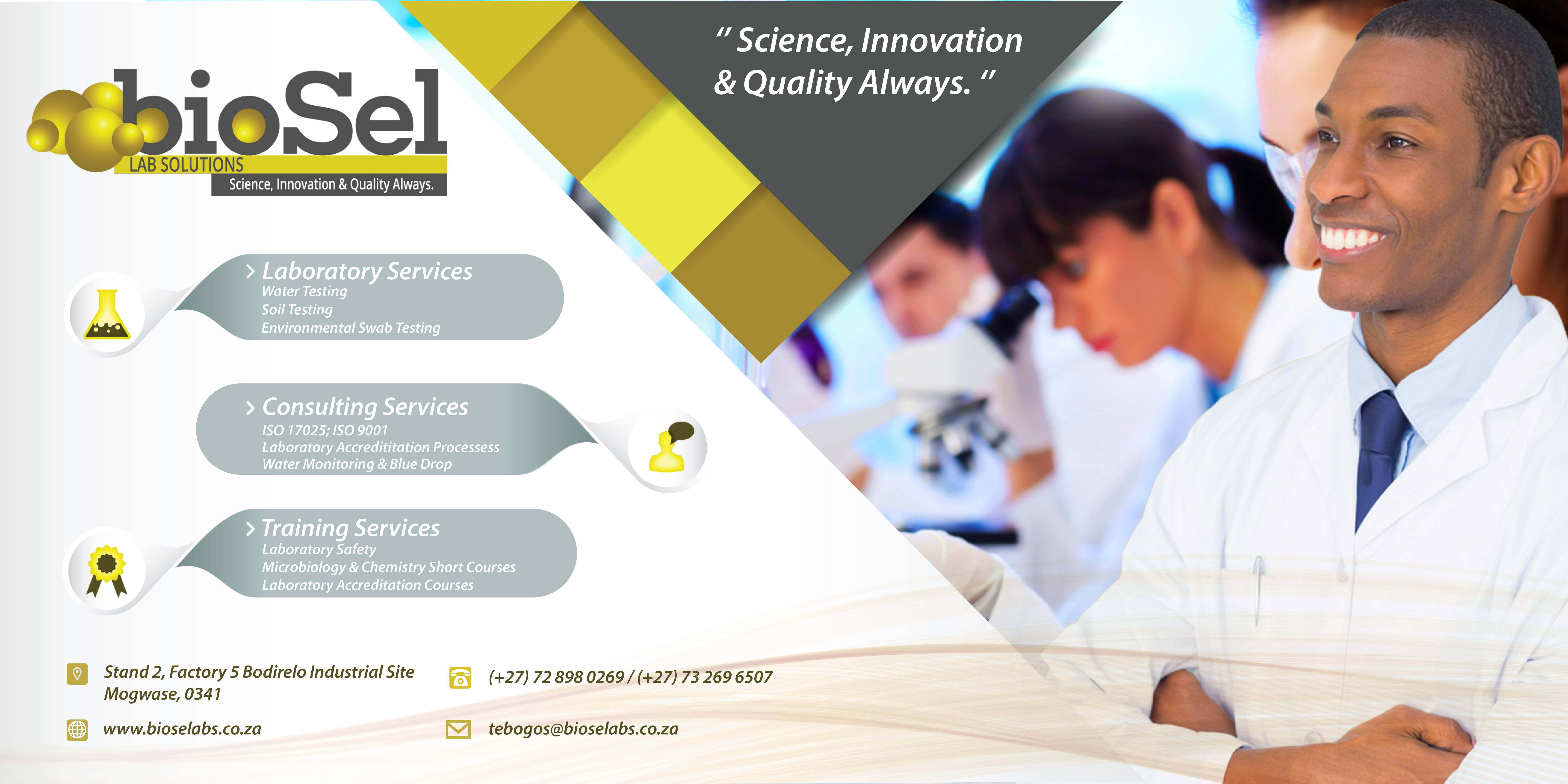 BioSel Laboratory Solutions | LinkedIn