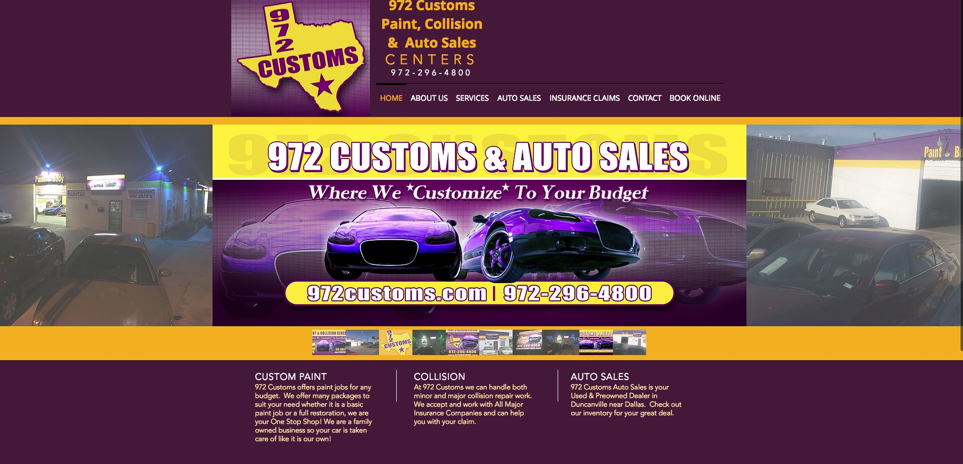Custom Auto Sales >> 972 Customs Paint Collision Auto Sales Centers Linkedin