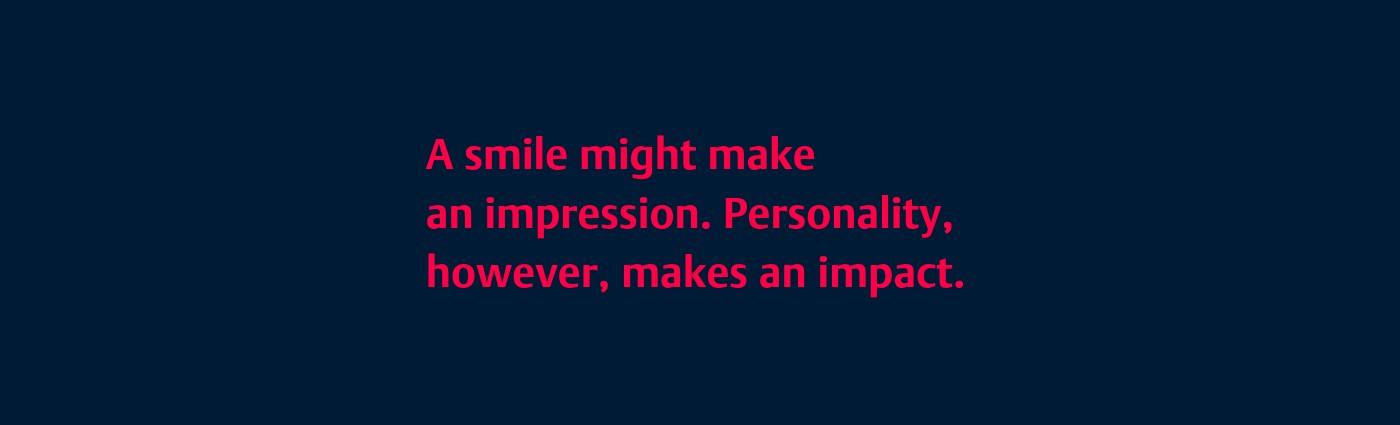 Challenge MC - Personality beyond the smile | LinkedIn