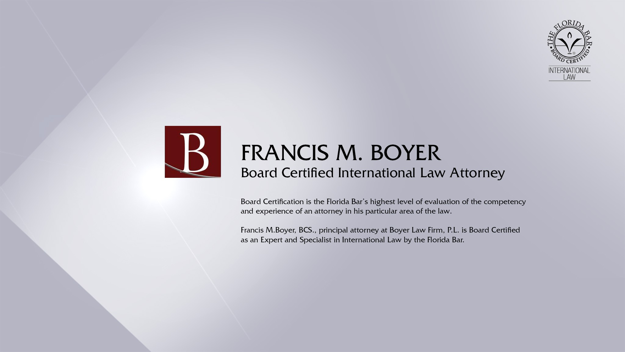 Boyer Law Firm, P L  | LinkedIn