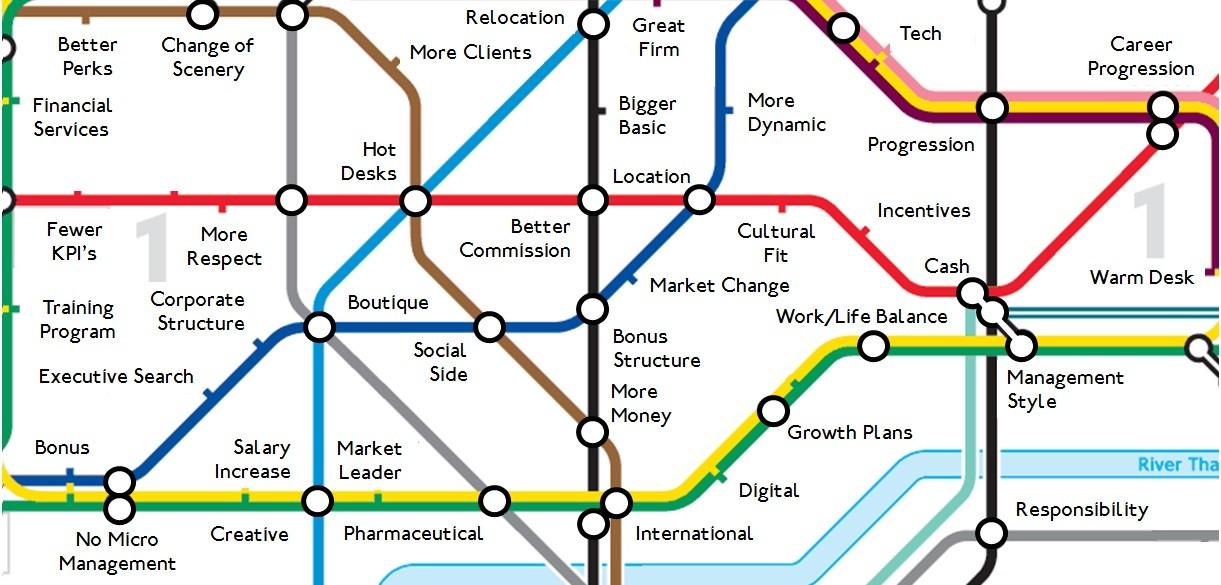 Basic Map Of London.Alderson James London Linkedin