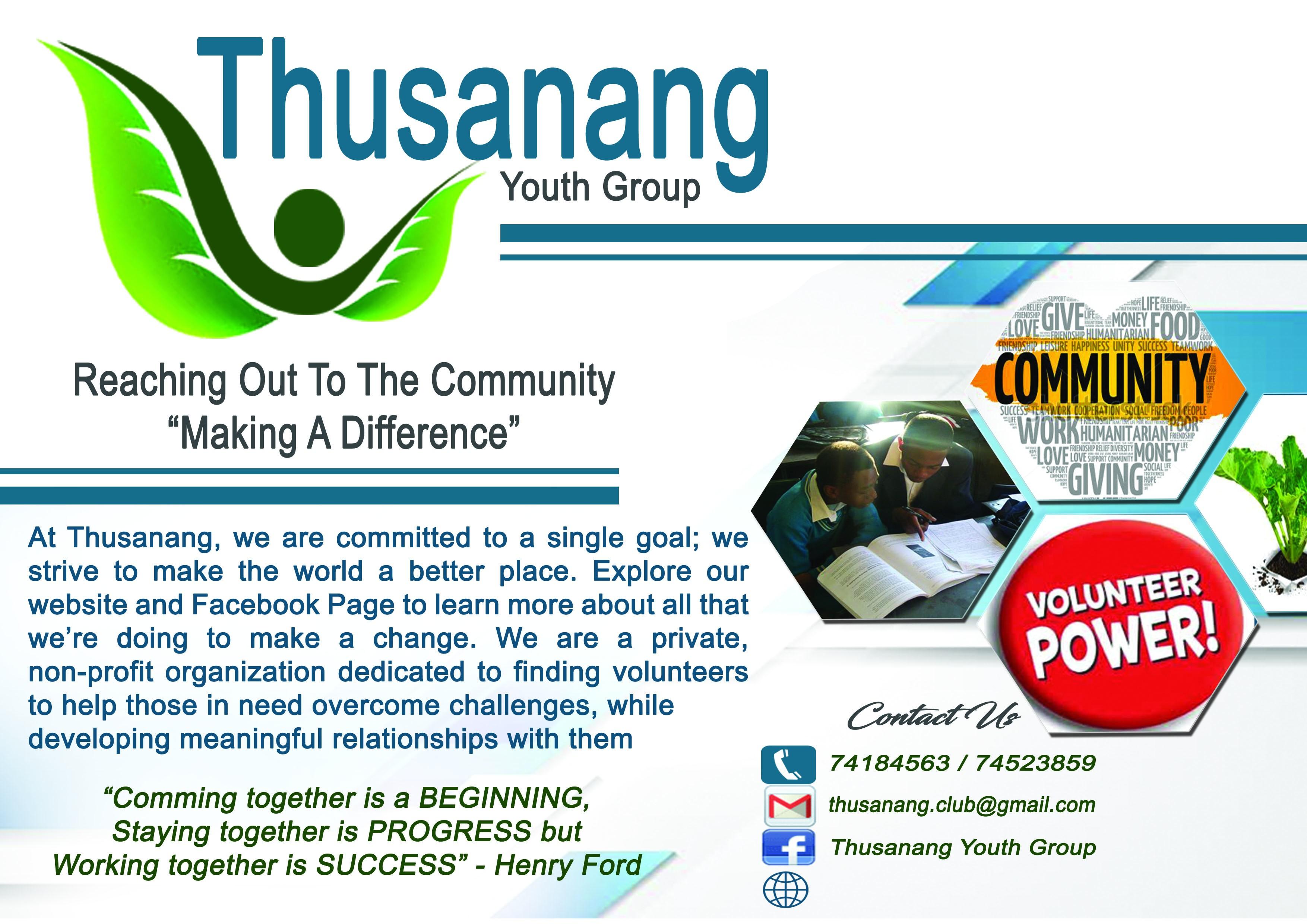 Thusanang Youth Group | LinkedIn