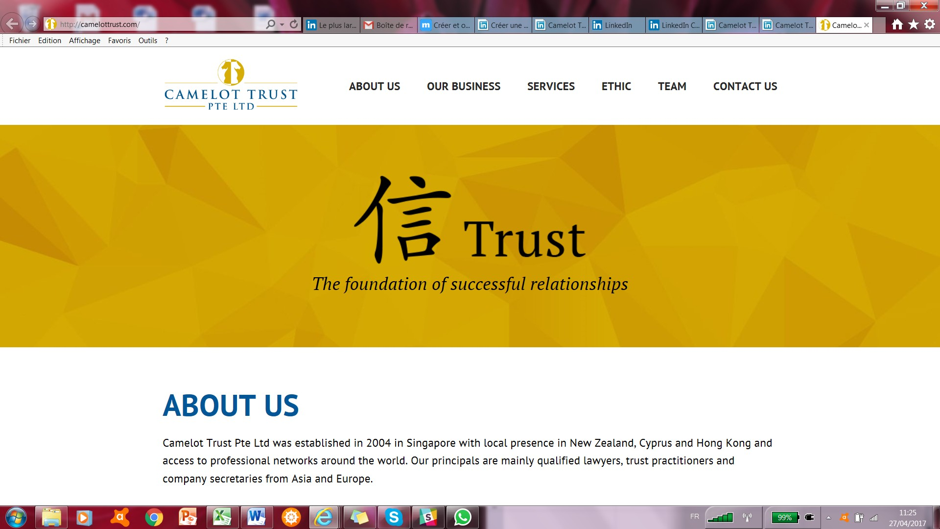 Camelot Trust Pte Ltd Linkedin