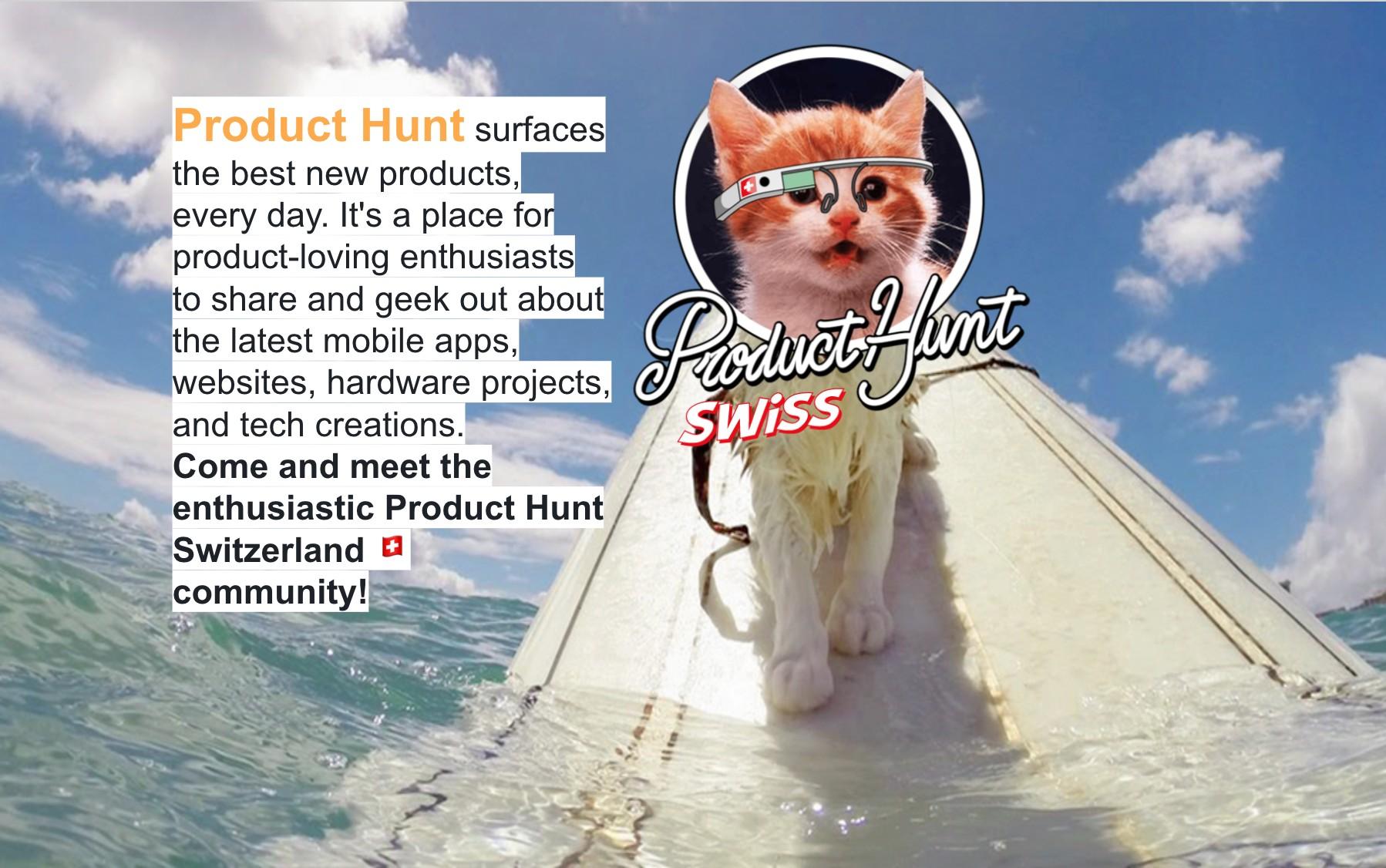 Product Hunt Switzerland | LinkedIn