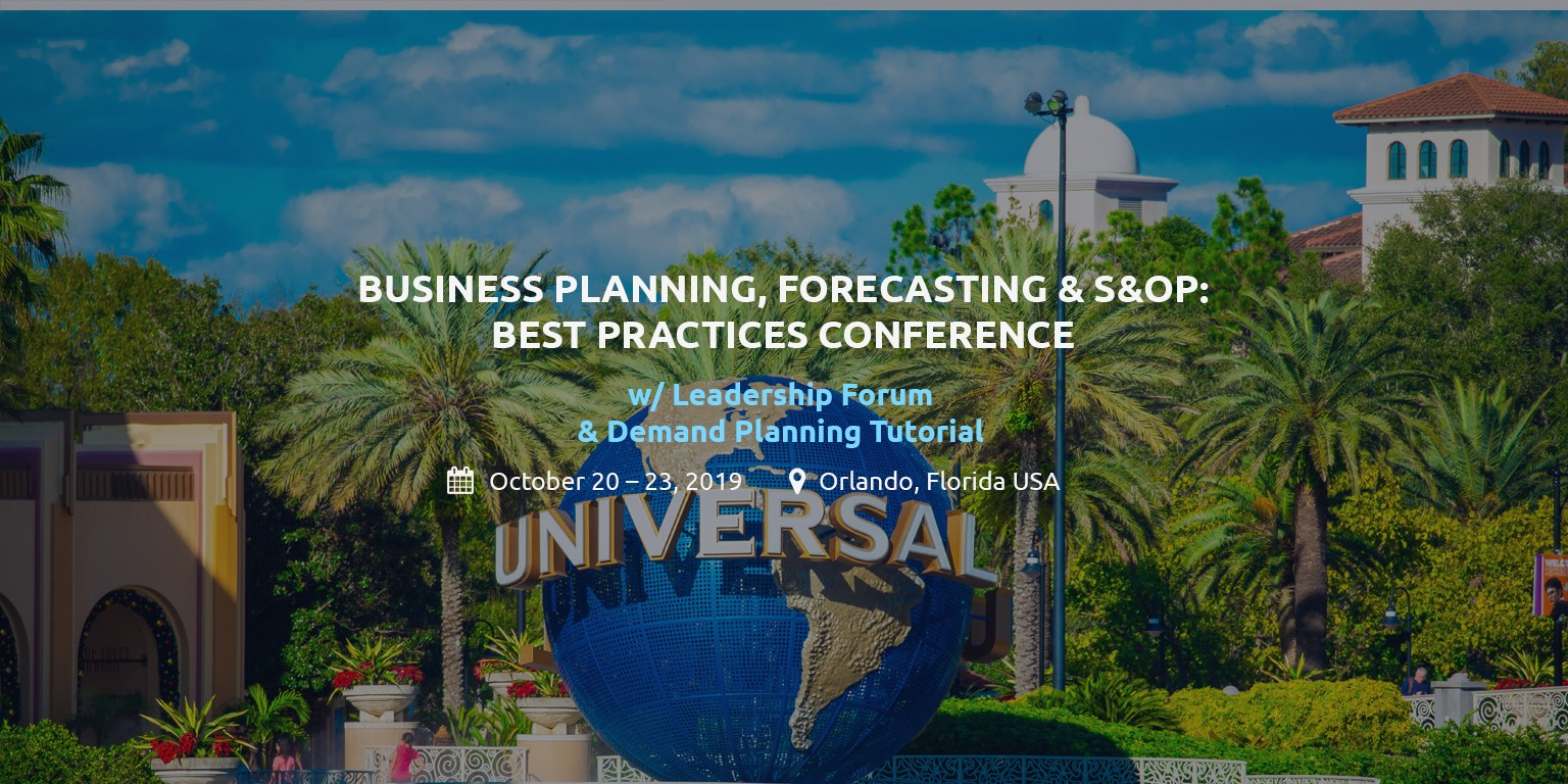 Institute of Business Forecasting & Planning | LinkedIn