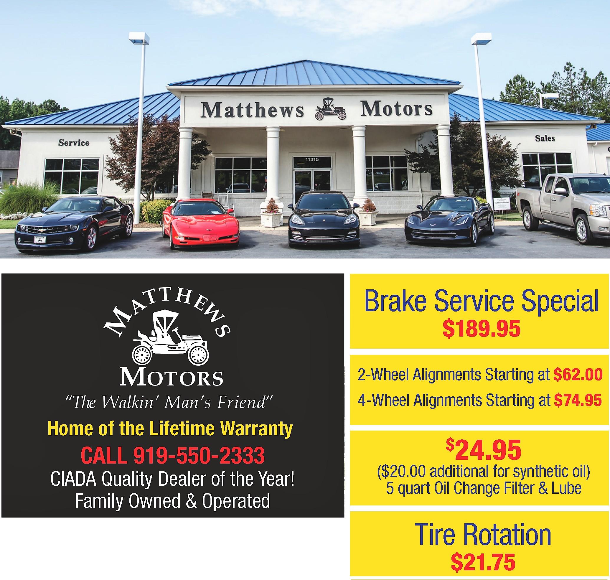 Matthew Motors Goldsboro Nc >> Matthews Motors Linkedin
