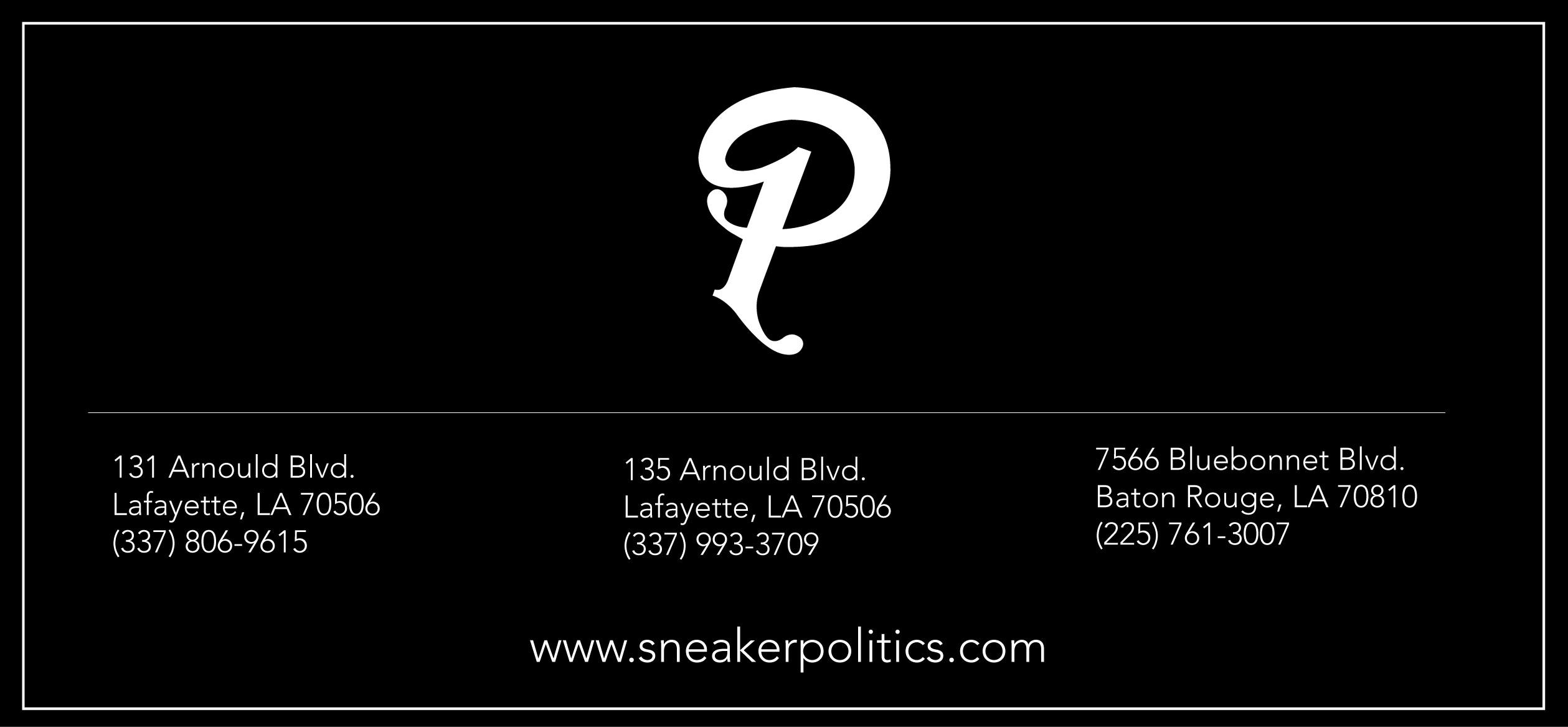 3512f091ca0 Sneaker Politics LLC cover image