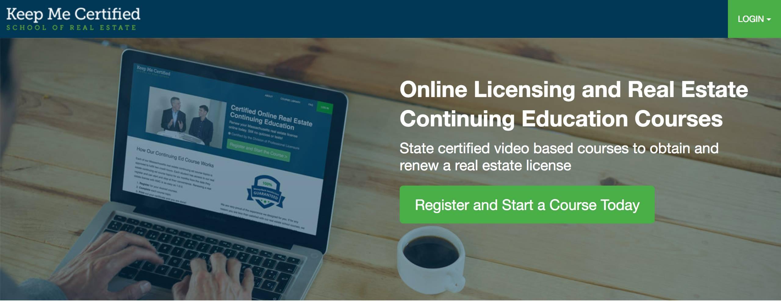 Keep Me Certified | Online Real Estate School | LinkedIn