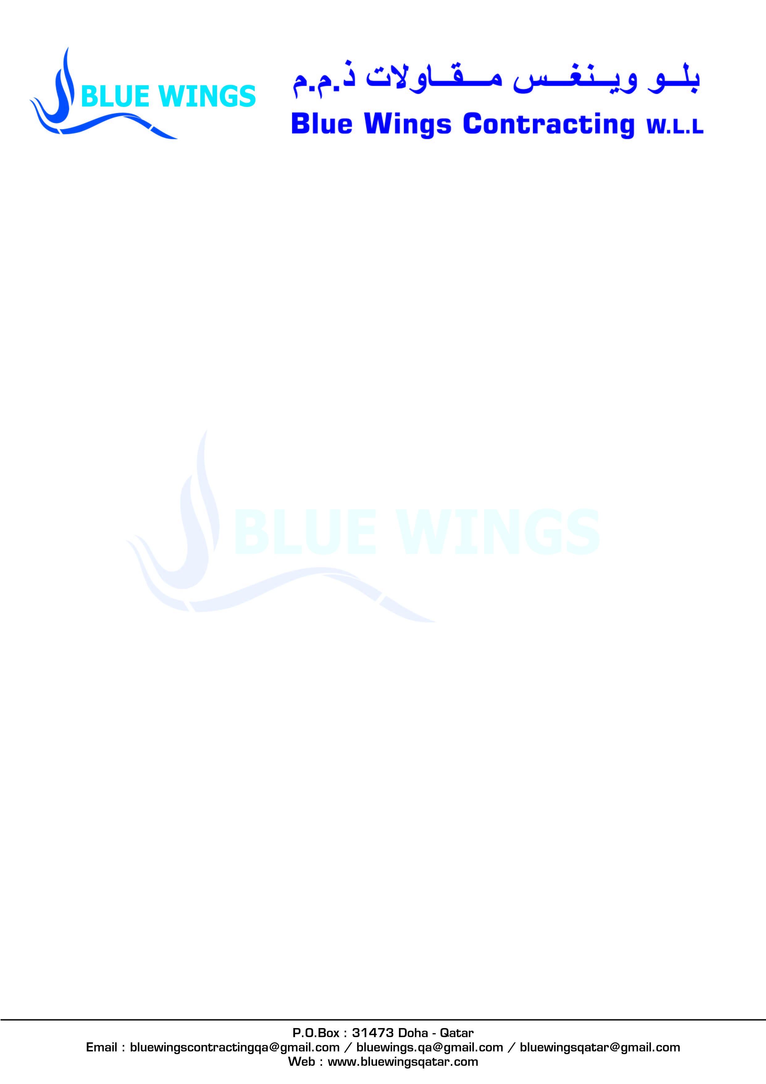 Blue Wings Contracting W L L | LinkedIn