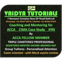 Vaidya Tutorials - ACCA CIMA IFRS Classes - Professional