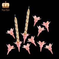 Glitter Taper Spiral Candles China