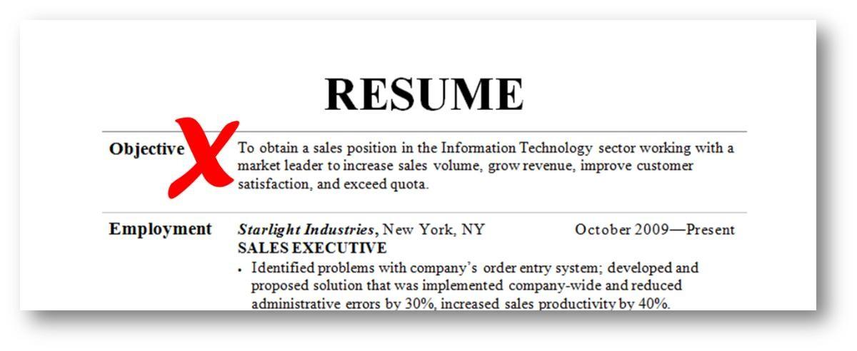 12 Killer Resume Tips For The Sales Professional Jeff Weaver