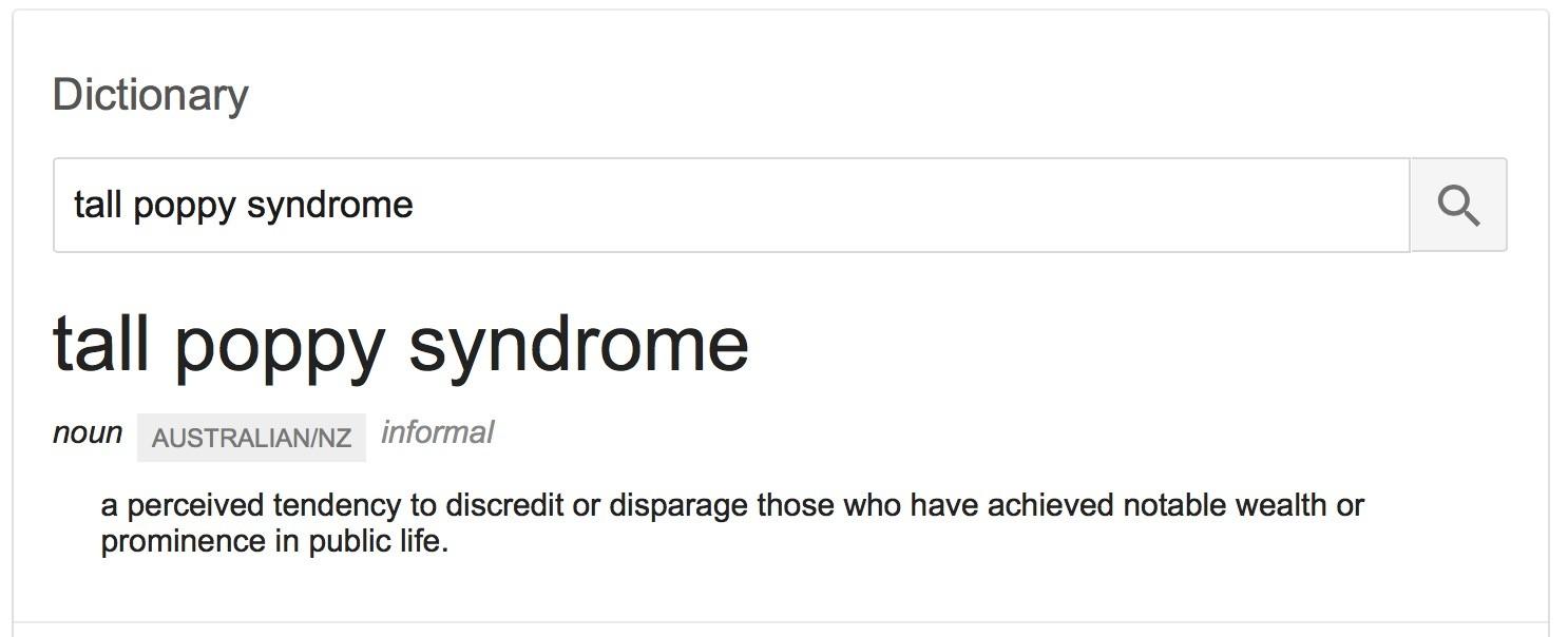 Eran Thomson on SKY News Entrepreneurs TV Show: Tall Poppy Syndrome Rant 1