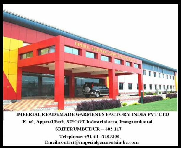 Imperial Readymade Garments Factory Pvt  Ltd  | LinkedIn