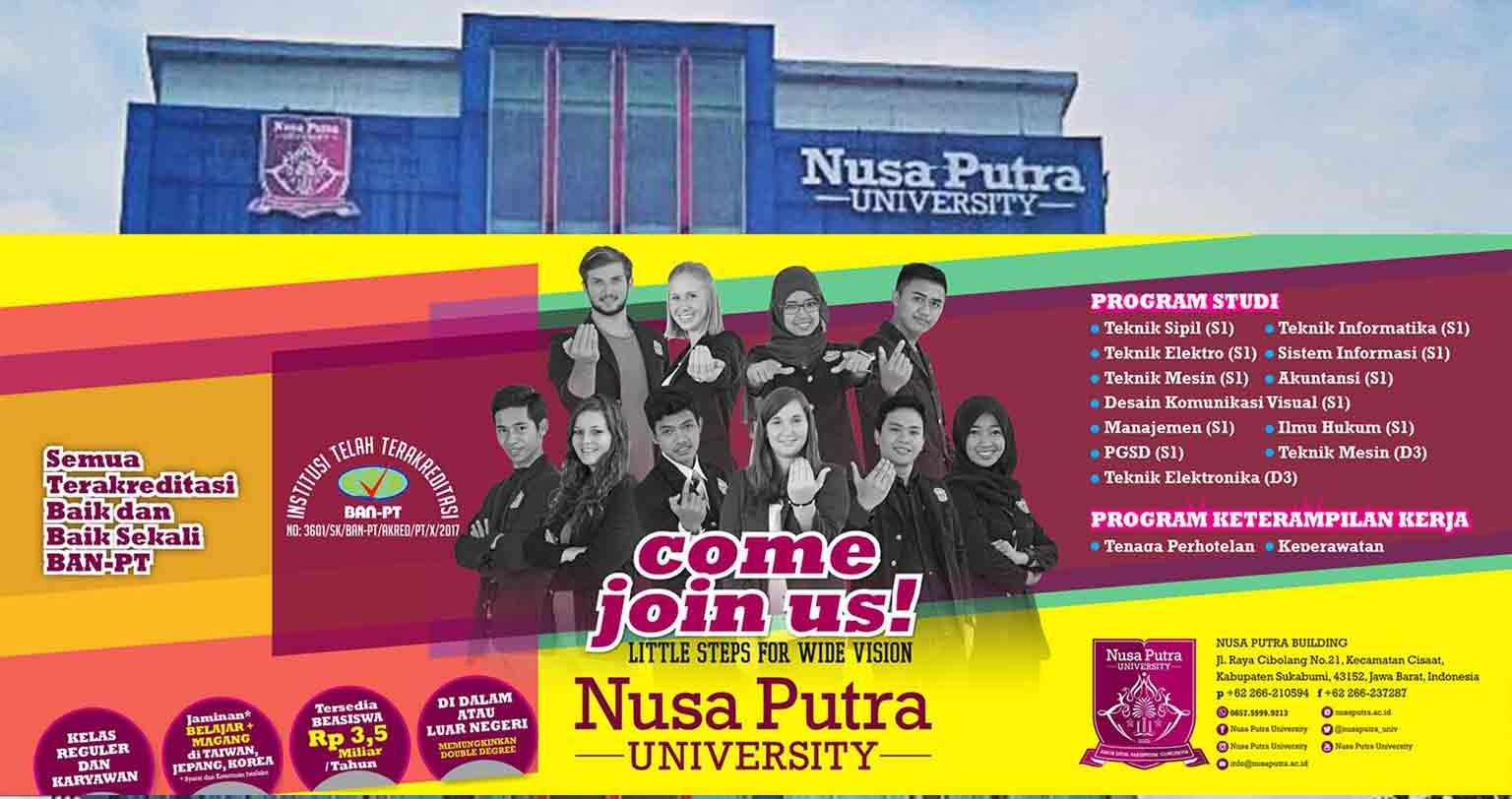 Nusa Putra University | LinkedIn