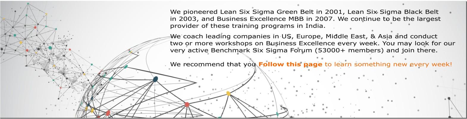 Benchmark Six Sigma   LinkedIn