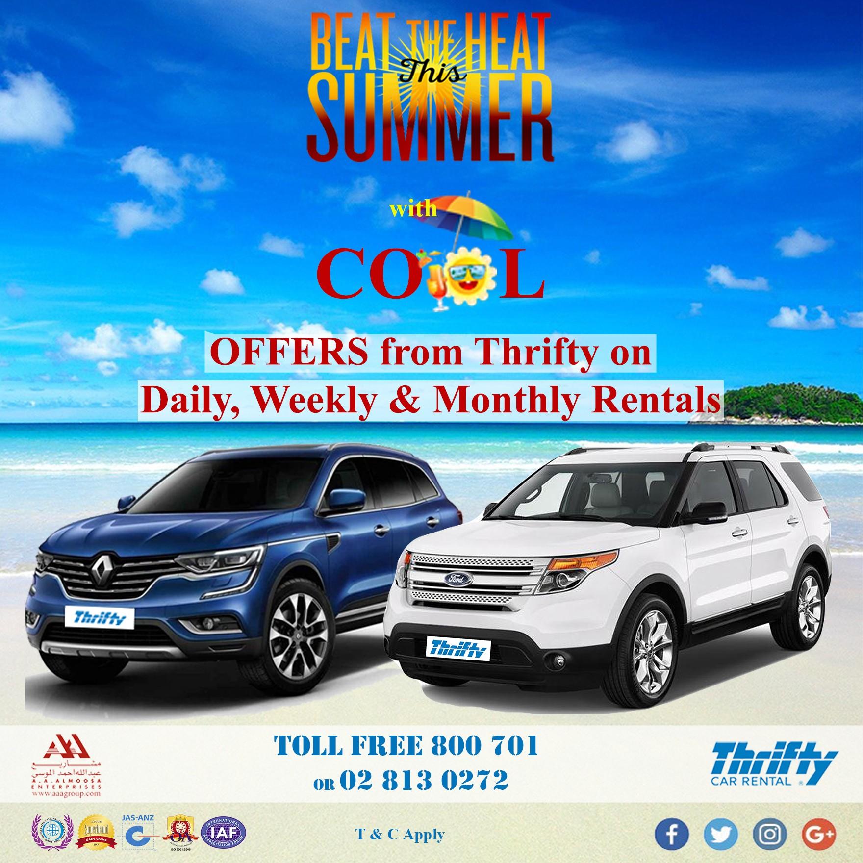 Thrifty Car Rentals >> Thrifty Car Rental Uae Linkedin