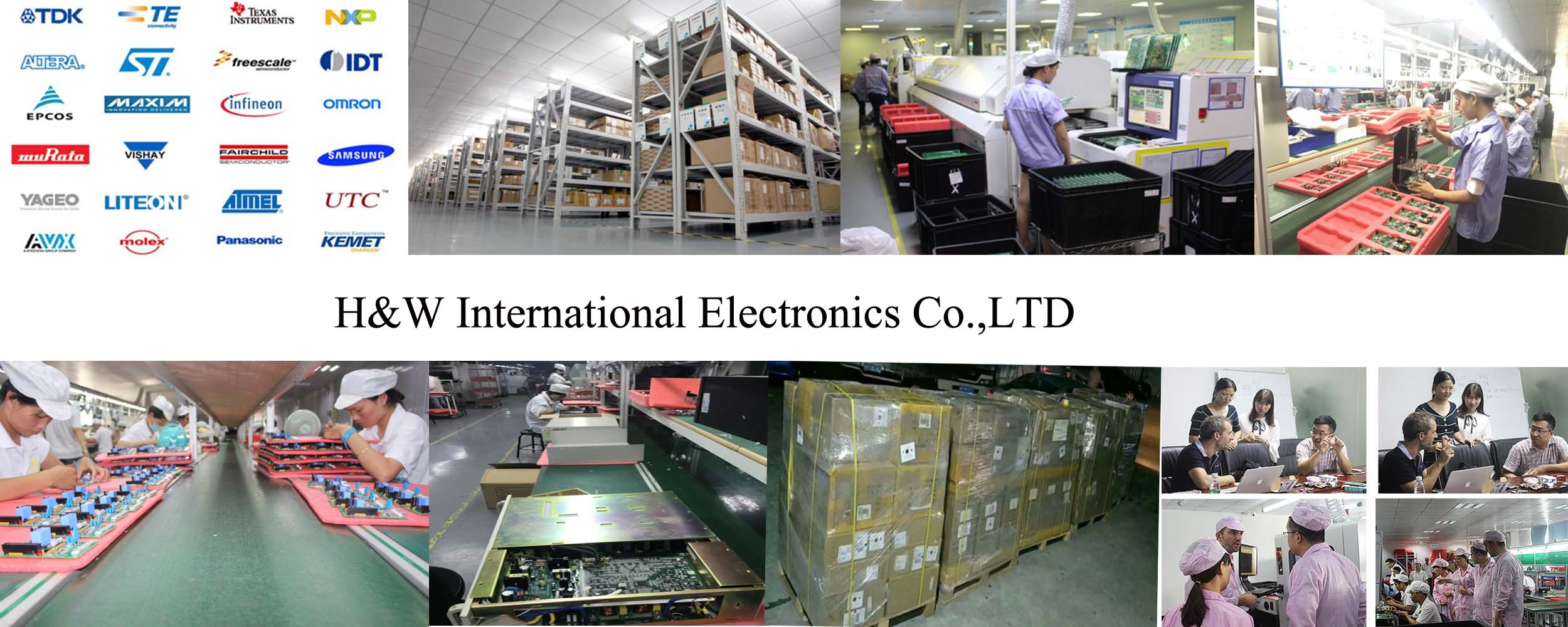 PCBA Supplier CM from H&W Electronics Printed Circuit Board(PCB
