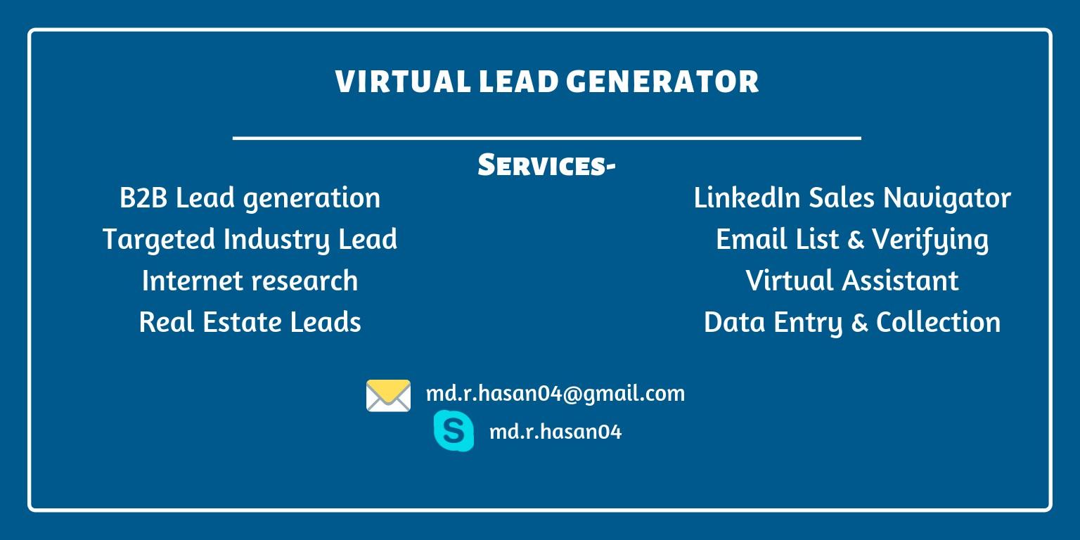 Virtual Lead Generator | LinkedIn