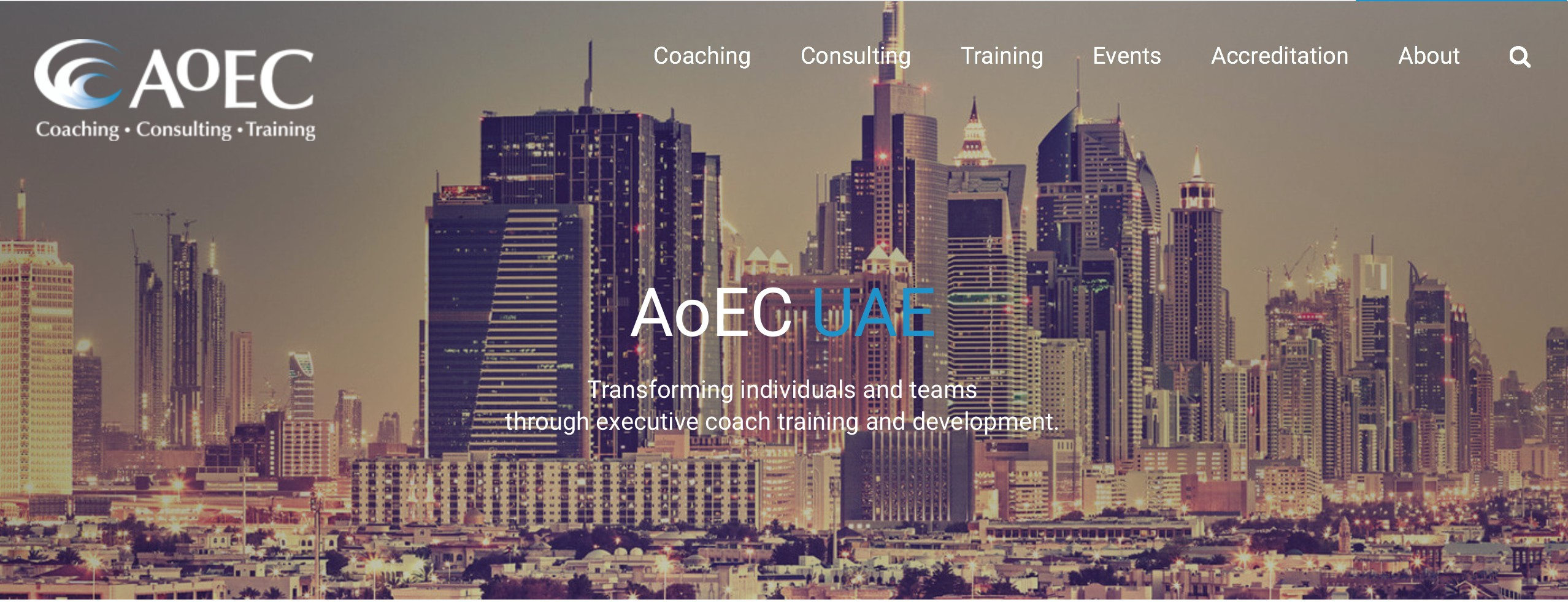 AoEC UAE: The Academy of Executive Coaching | LinkedIn