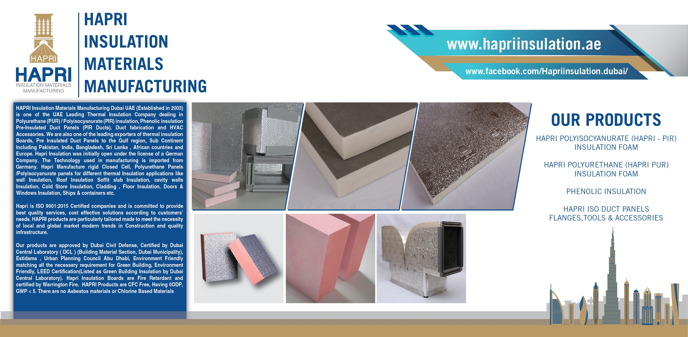 Hapri Insulation Materials Manufacturing | LinkedIn
