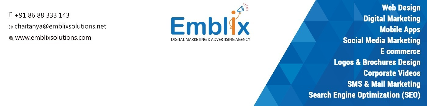 Emblix Solutions Digital Marketing Company | LinkedIn
