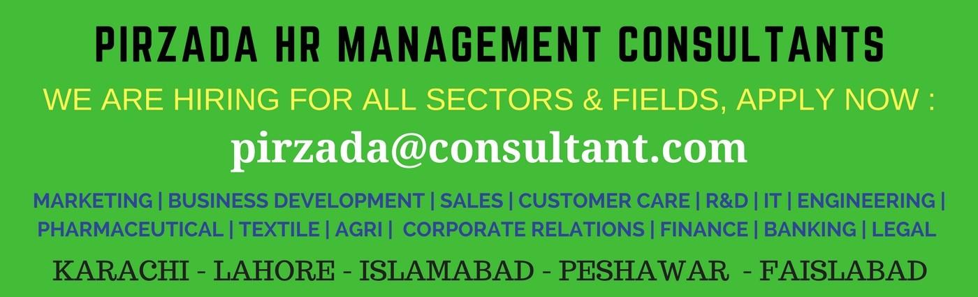 Pirzada Management Consultants - Karachi - Lahore