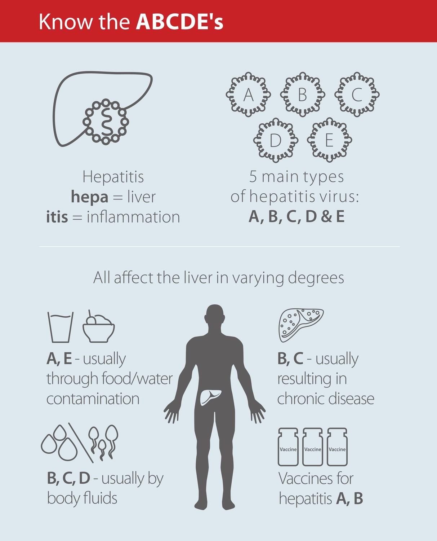 hepatitis categories