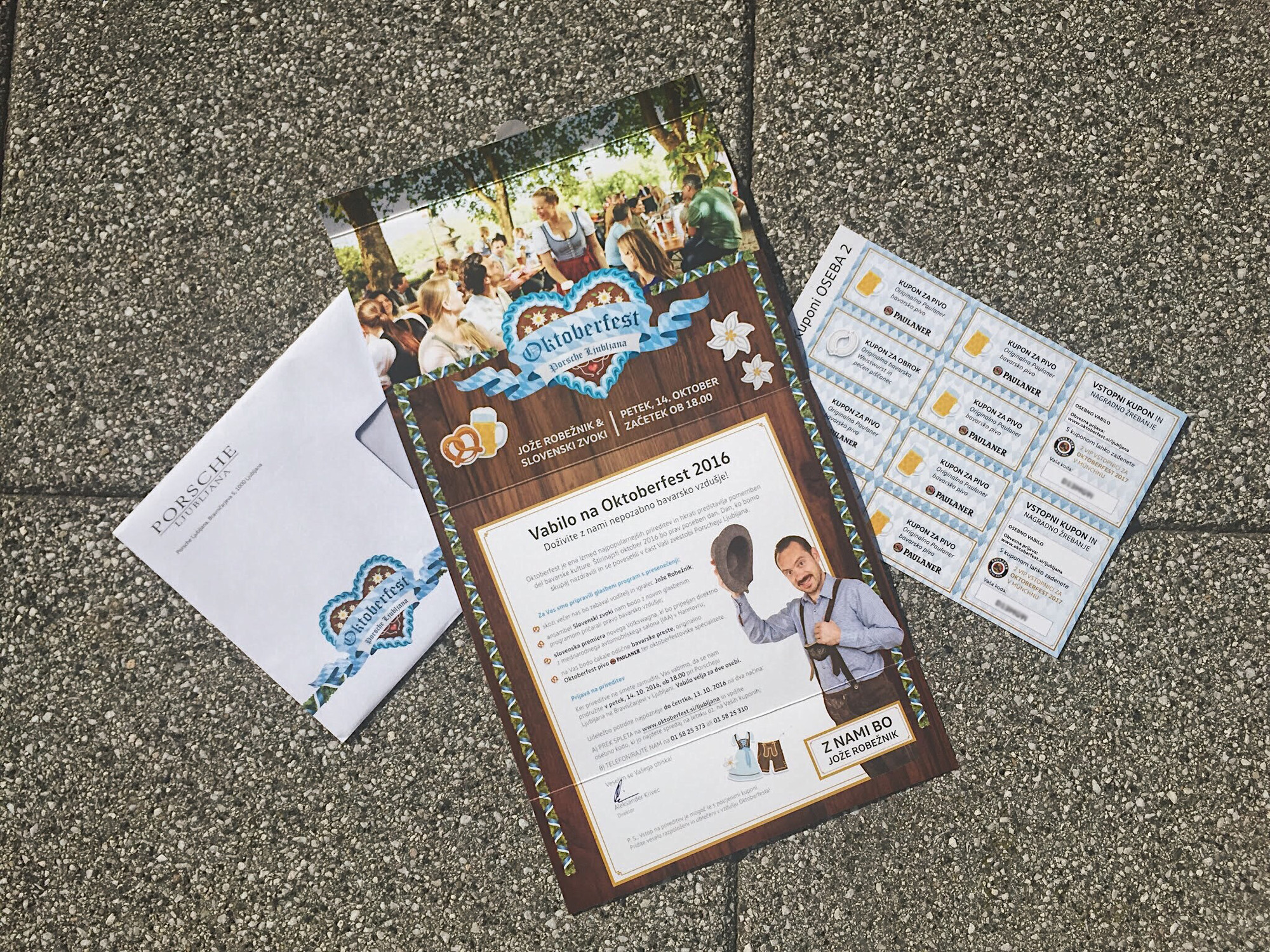 Oktoberfest porsche ljubljana andra lazi pulse linkedin invitation is valid for two persons each invitee receives three coupons for beer one coupon for food original bavarian weiswurst and a coupon for stopboris Image collections