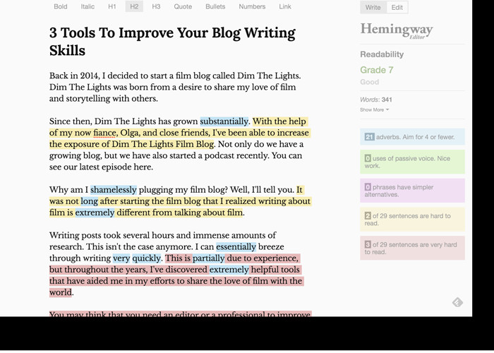3 tools to improve your blog writing skills brian maya pulse
