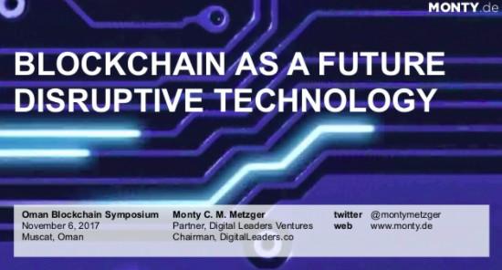 Monty Metzger - CEO & Founder - LCX - Liechtenstein Cryptoassets ...