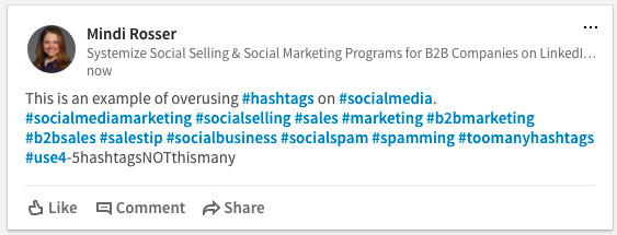 Getting Started With Hashtags On Linkedin Mindi Rosser Pulse