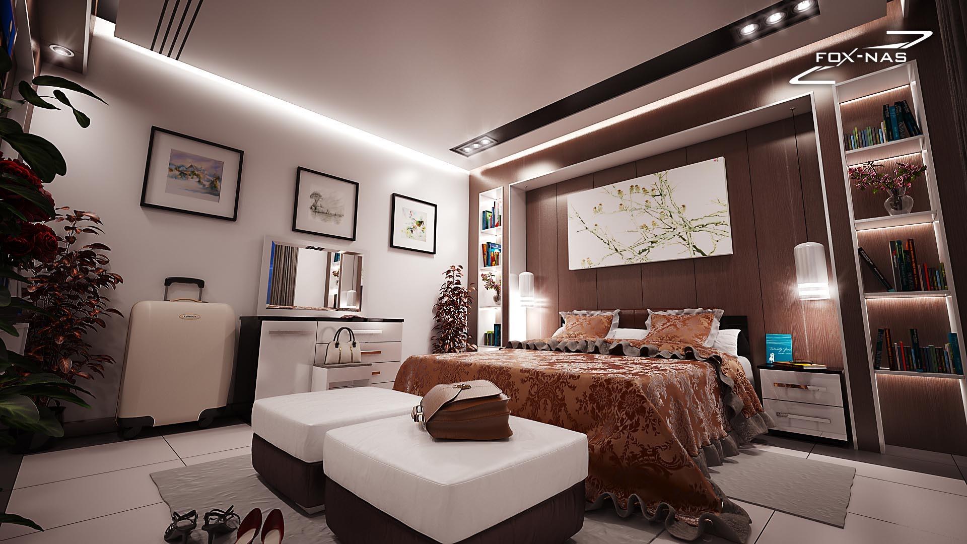 Design chambre luxe parentale, Alger par FOXNAS (www.foxnas.com ...