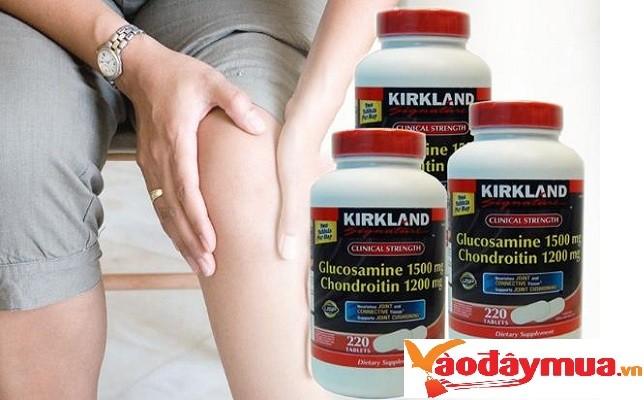 Glucosamine 220 viên của Mỹ biện pháp cho người bệnh khớp