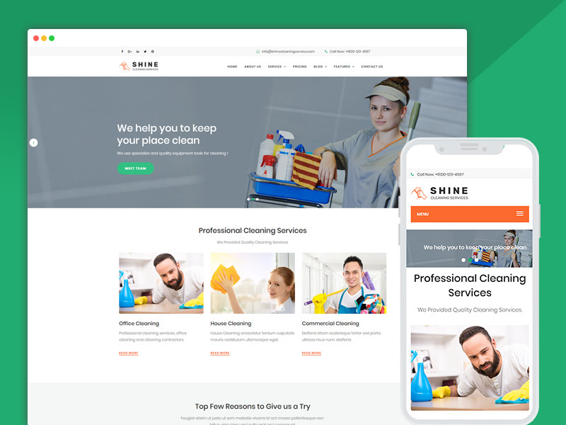 Best Bootstrap Responsive Web Design HTML Templates   Ease Template ...