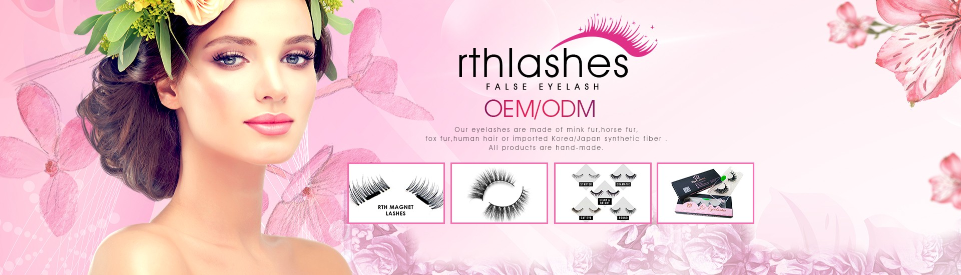 a21ee94d4f5 QINGDAO RTH LASHES CO., LTD cover image
