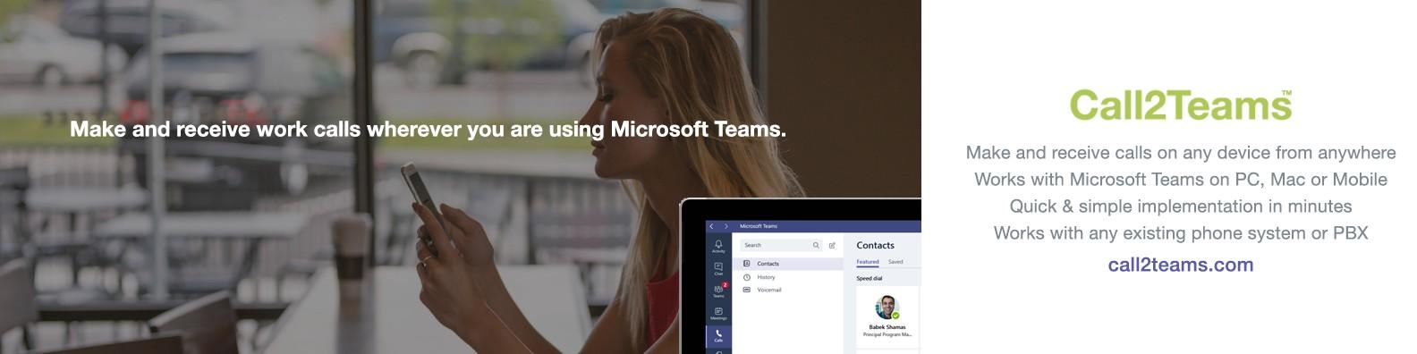 Call2Teams | LinkedIn