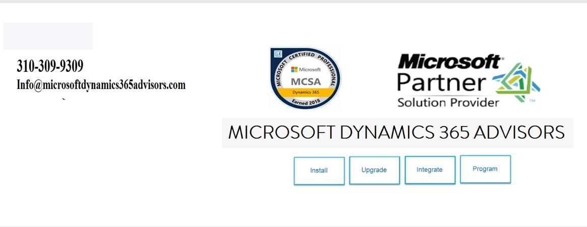 Microsoft Dynamics 365 Advisors | LinkedIn