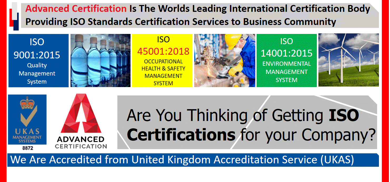iso certification bodies in lahore