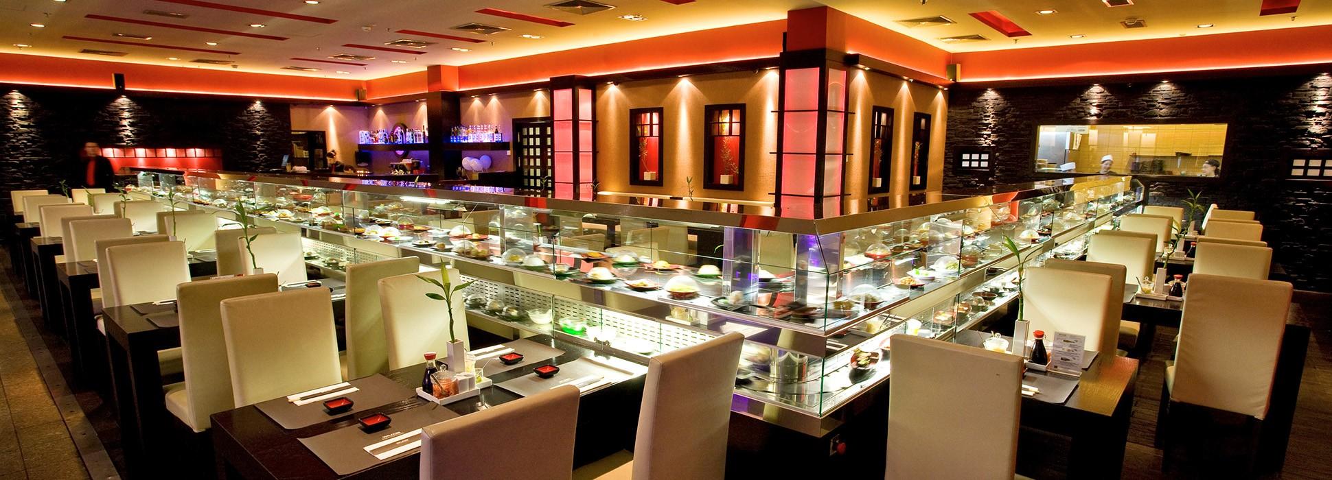 Wasabi Running Sushi Wok Restaurant Linkedin