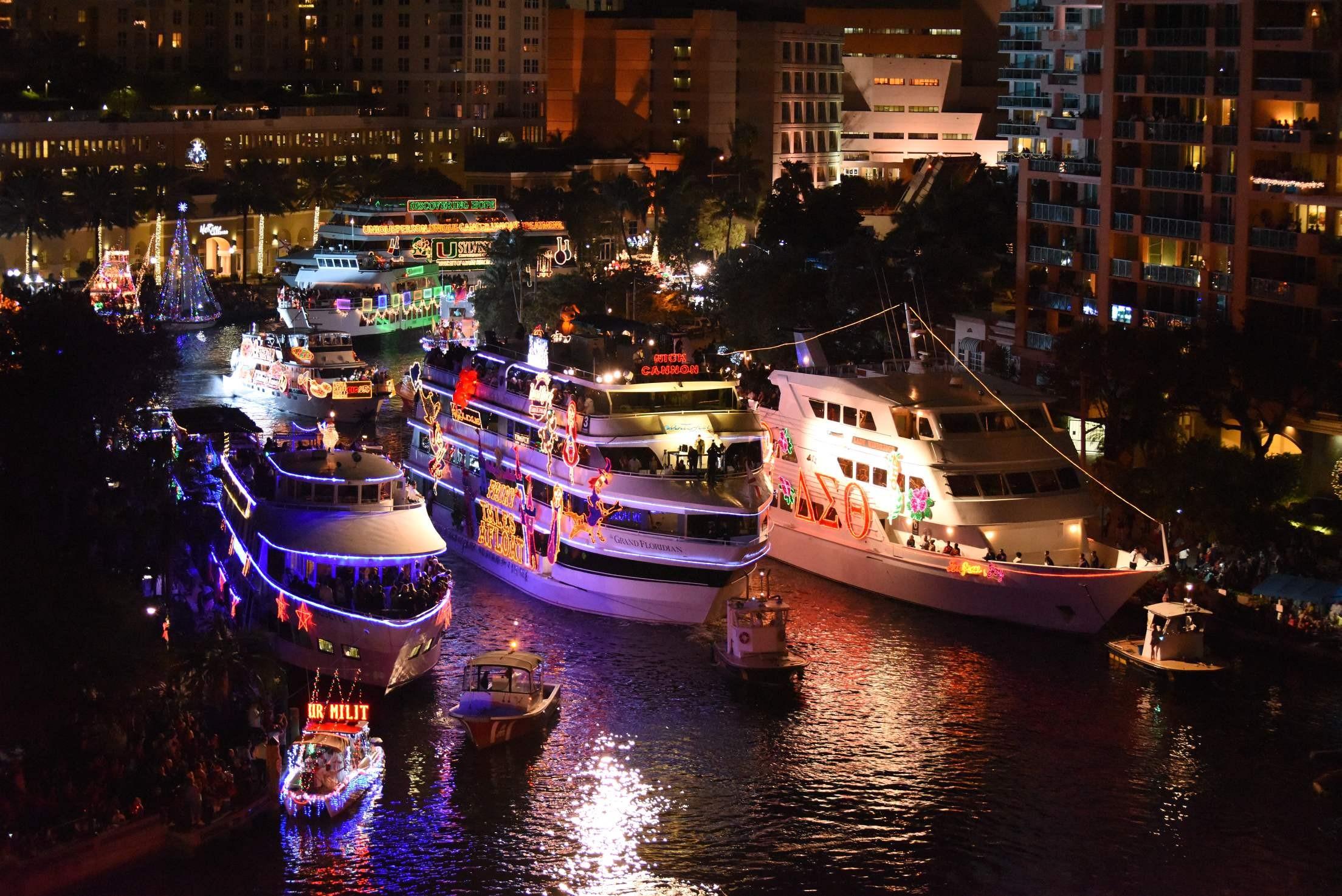 Fort Lauderdale Christmas Boat Parade.Winterfest Inc Linkedin
