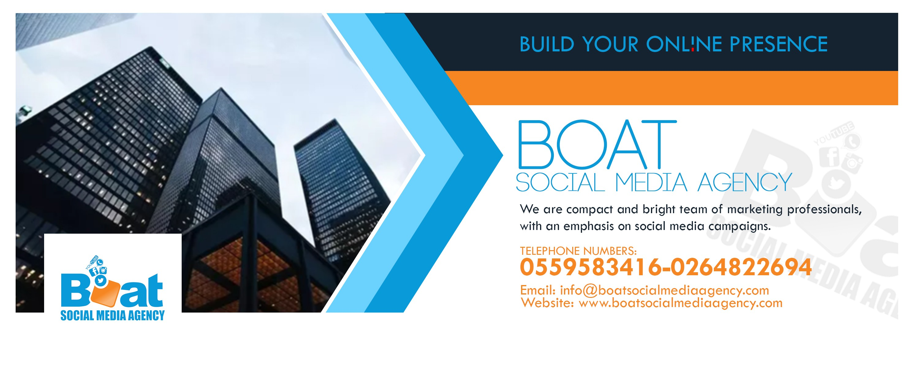 Boat Social Media Agency | LinkedIn