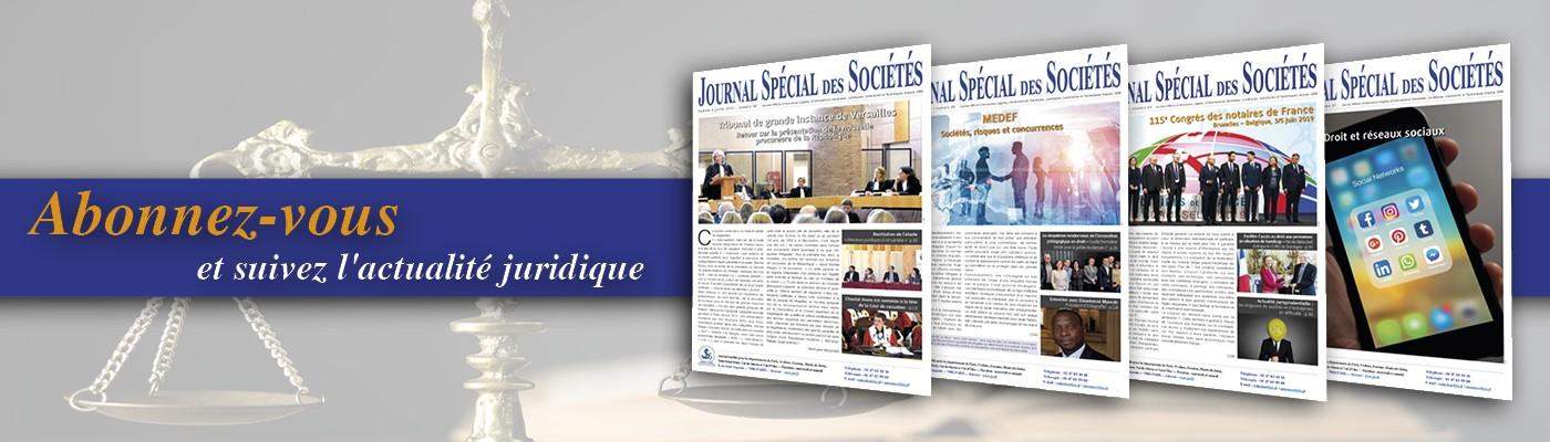 Journal Spécial des Sociétés - JSS | LinkedIn