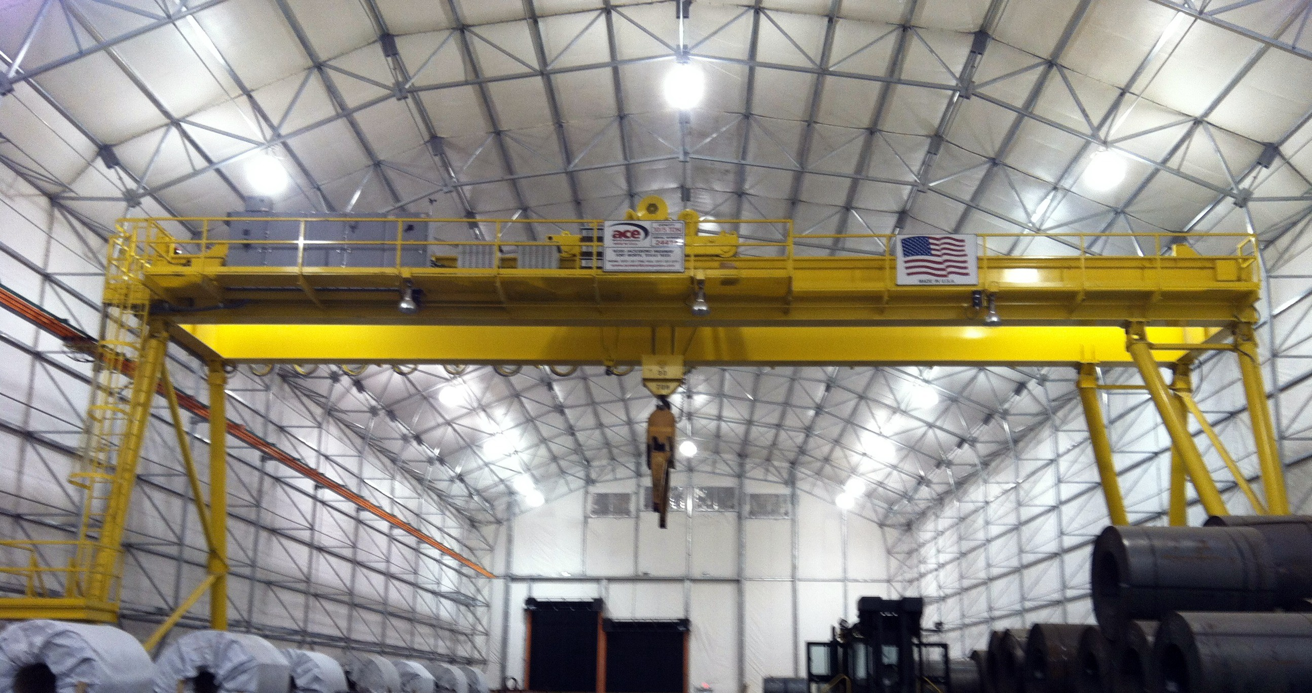 Ace World Companies - Overhead Cranes, Components and