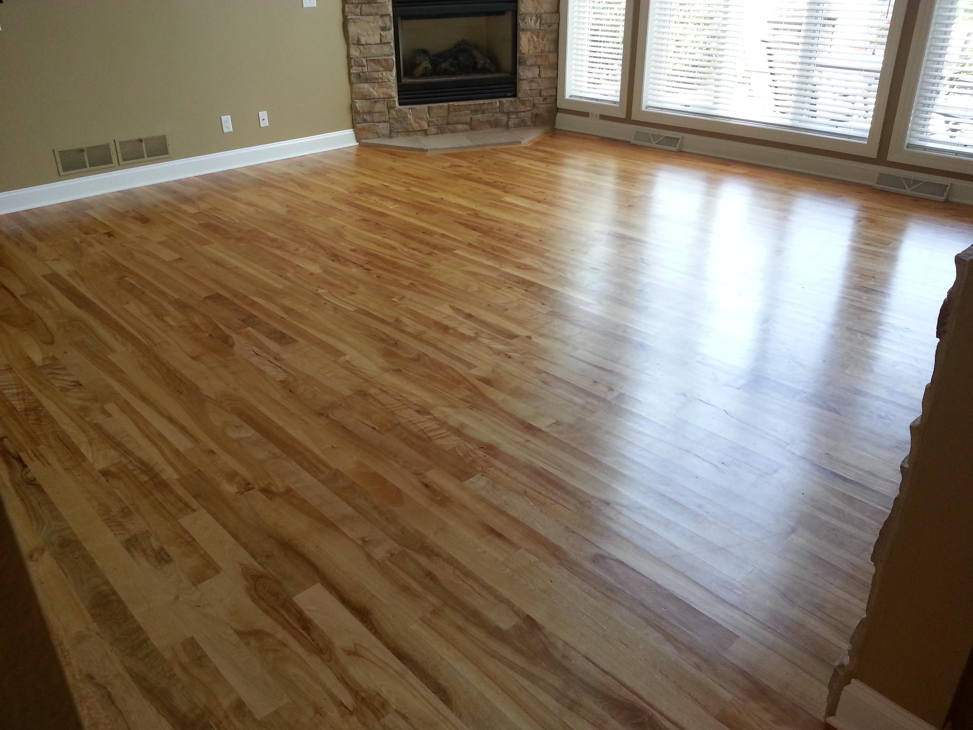 Buff Coat Hardwood Floor Renewal
