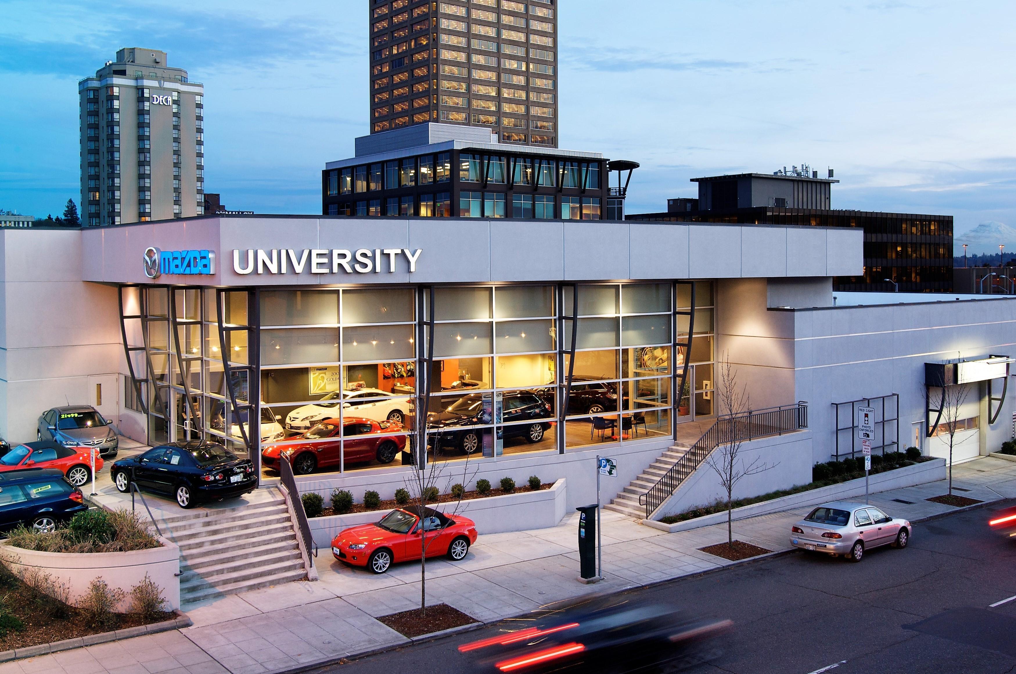 University Mazda Linkedin