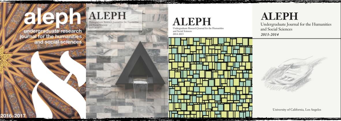 Aleph Undergraduate Research Journal at UCLA | LinkedIn